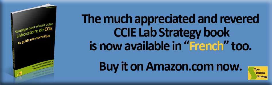 CCIE French Lab Success Strategy
